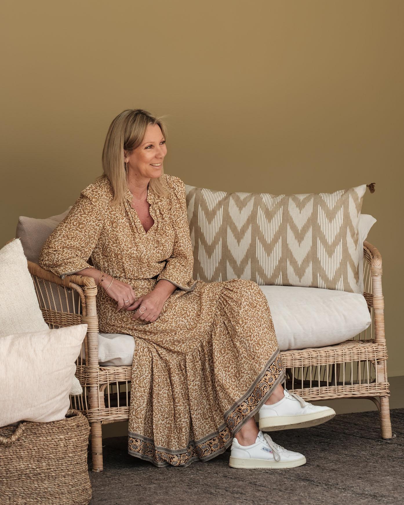 Anne Gilis portret Home of Geraldine Multibrand showroom Edegem